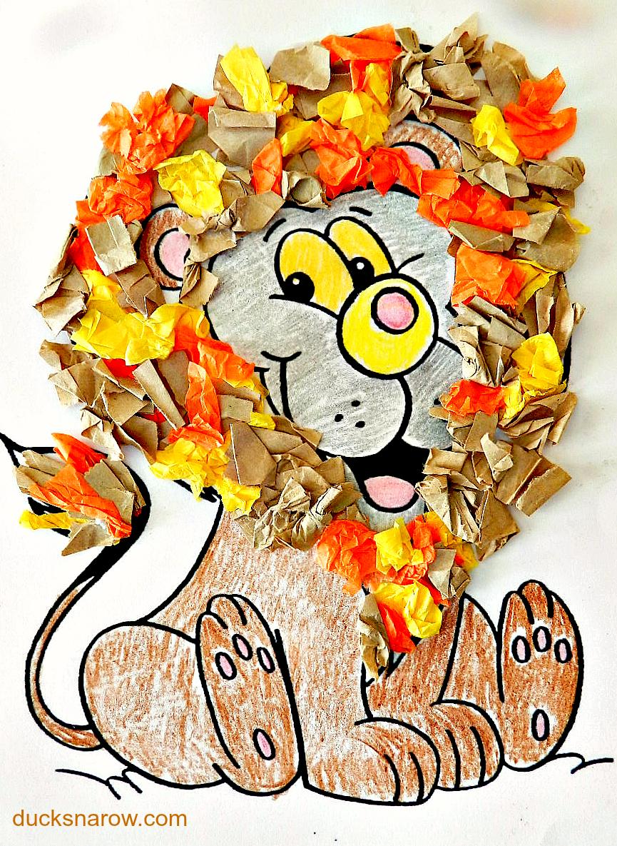 Letter L is for Lion #preschool