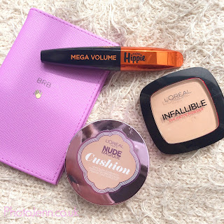 l'oreal-superdrug--haul-cushion-foundation-infallible-powder-hippy-mascara-review