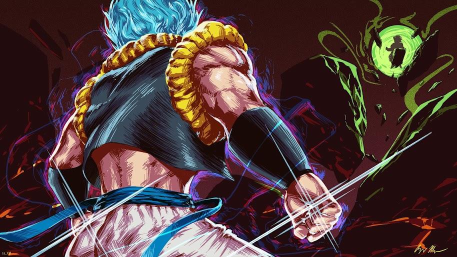 Gogeta, Super Saiyan Blue, Dragon Ball Super: Broly, 4K ...