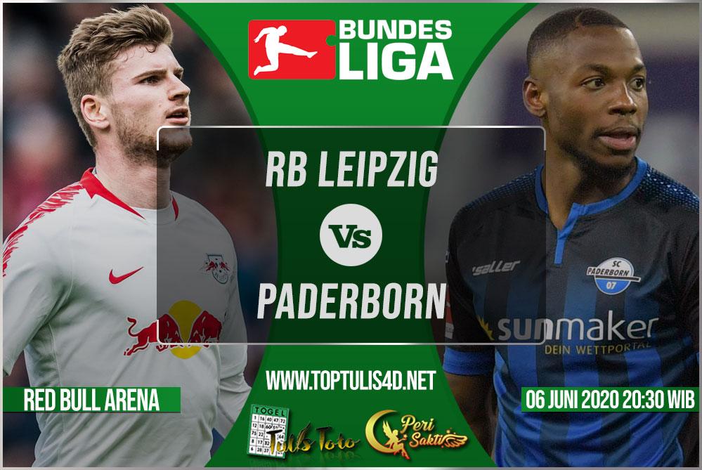 Prediksi RB Leipzig vs Paderborn 06 Juni 2020