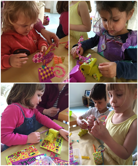 Hosting an AmiGami craft party for children