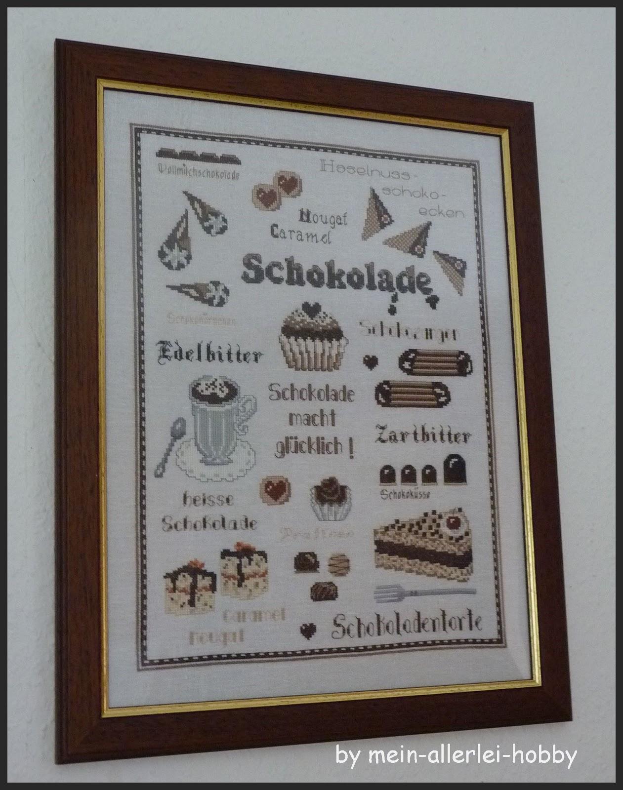 Mein-allerlei-Hobby: Schokolade an der Wand