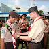 Syahrul Ketua Kwartil Cabang, Buka Lomba Tingkat II Kwartil Ranting Pramuka