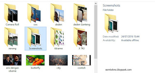 screenshot termudah di windows