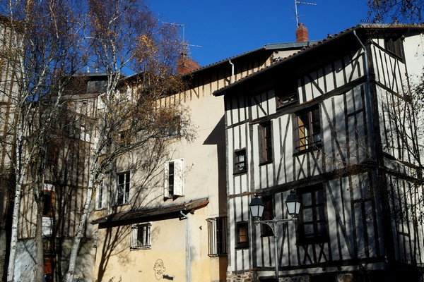 limoges quartier boucherie place barreyrette colombages
