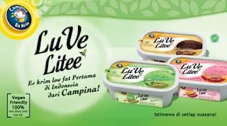 Es Krim LuVe Litee dari Campina
