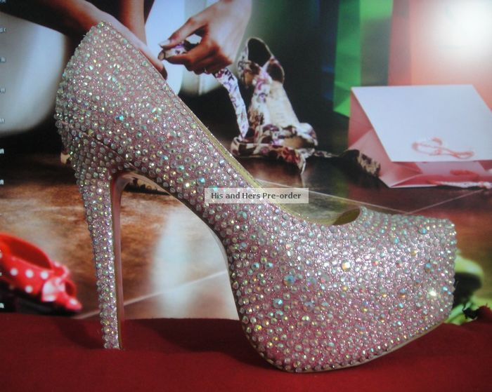size 40 2e544 ee6ce His & Hers Preorder: Christian Louboutin Daffodile Strass ...
