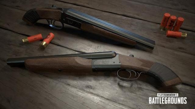 بندقية Sawed-off Gun  لعبة ببجي  Gun