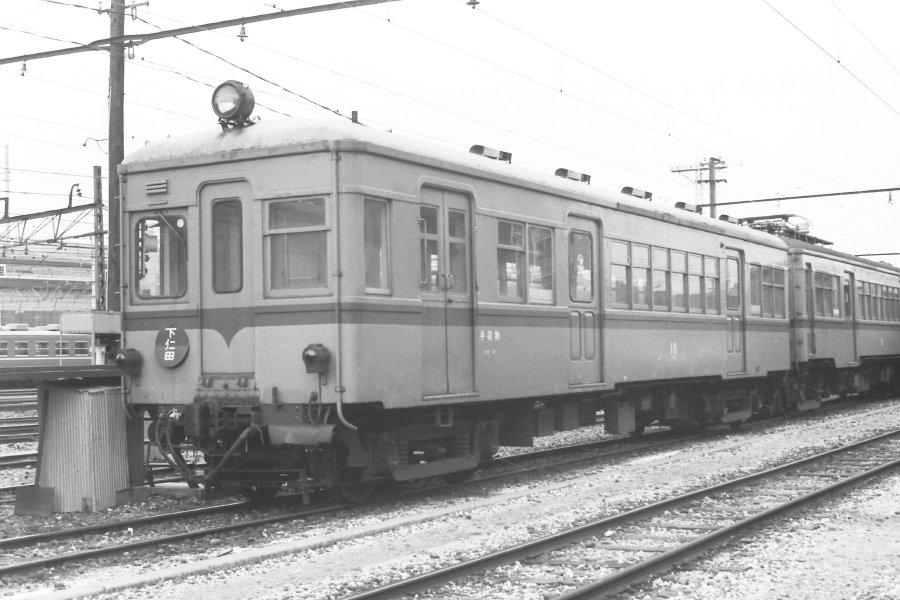 吊り掛け電車をもとめて: 上信電鉄 高崎に居た電車たち(2)