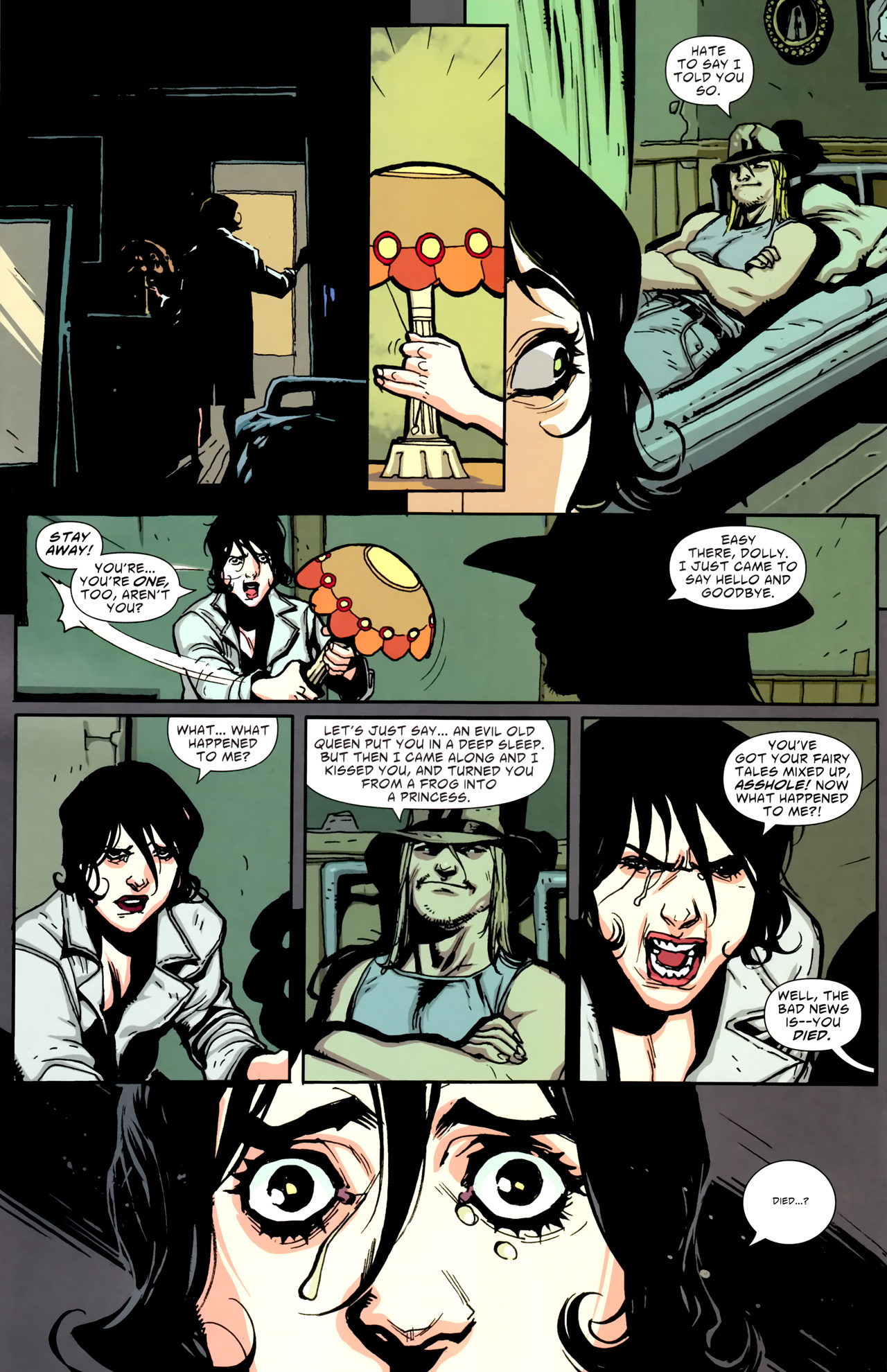 Read online American Vampire comic -  Issue #2 - 10