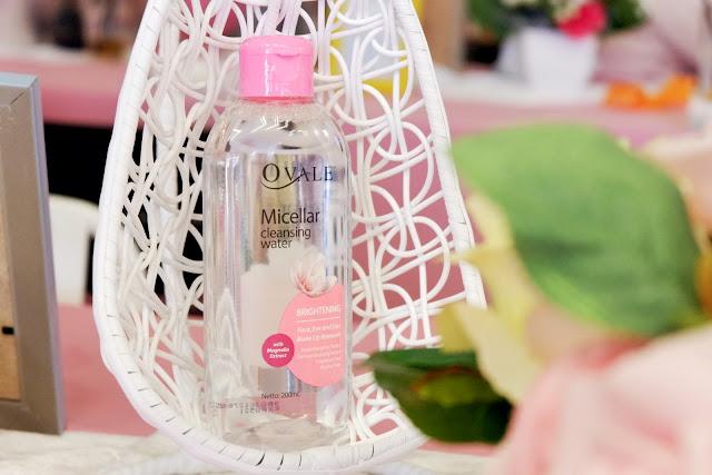 Ovale Micellar Cleansing Water, Rekomendasi Micellar Water, Pembersih wajah praktis