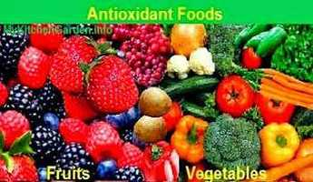Picture of antioxidant fruits and vegetables
