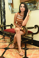 Actress Nikhita in Spicy Small Sleeveless Dress ~  Exclusive 020.JPG