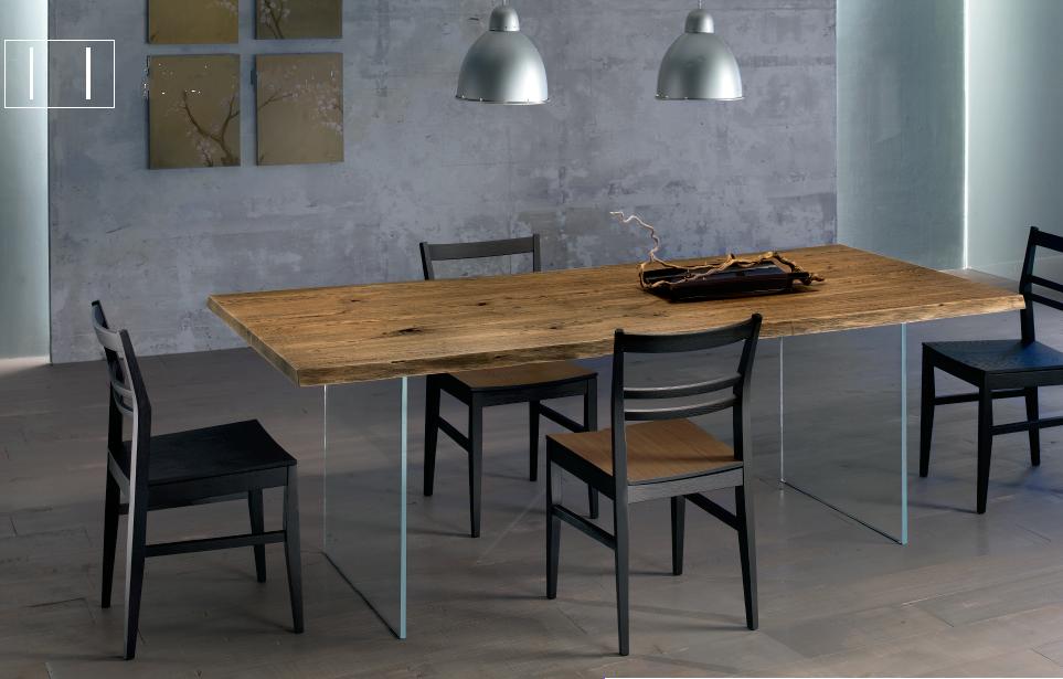 Riflessioni di una Lady Semiseria: L'evoluzione dei tavoli in legno: i tavoli in legno con base ...