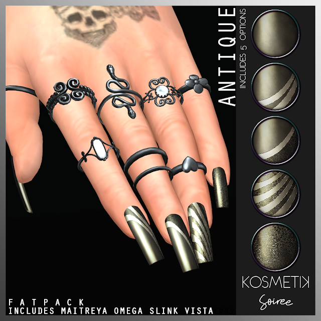 .kosmetik Soiree Antique Nails