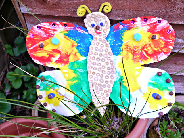 craft, butterfly