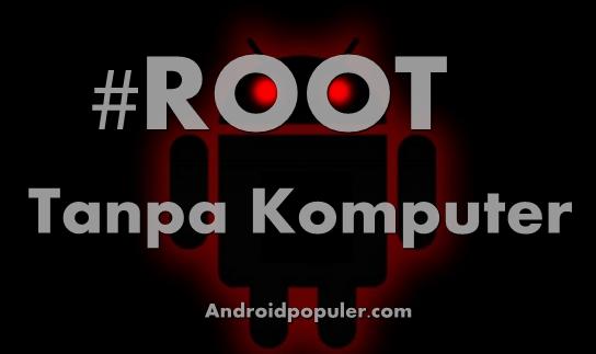 root tanpa menggunakan komputer