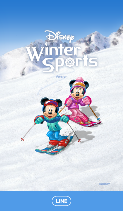 Mickey and Friends (Winter Sports)