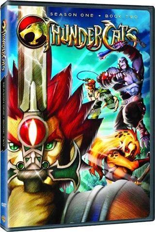 Thundercats 2011 Español Latino Temporada 1 Book 1 y 2 DVD
