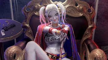 Harley Quinn, DC, Anti Hero, 4K, #4.3145