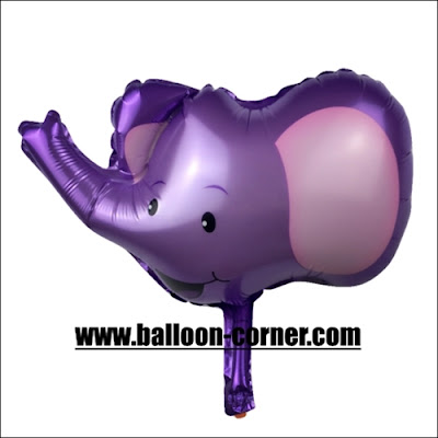 Balon Foil Kepala Gajah (Ukuran Besar)