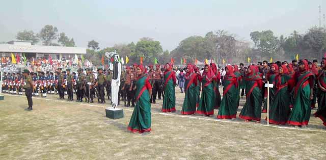 Gaibandha Ansar and VDP celebrated