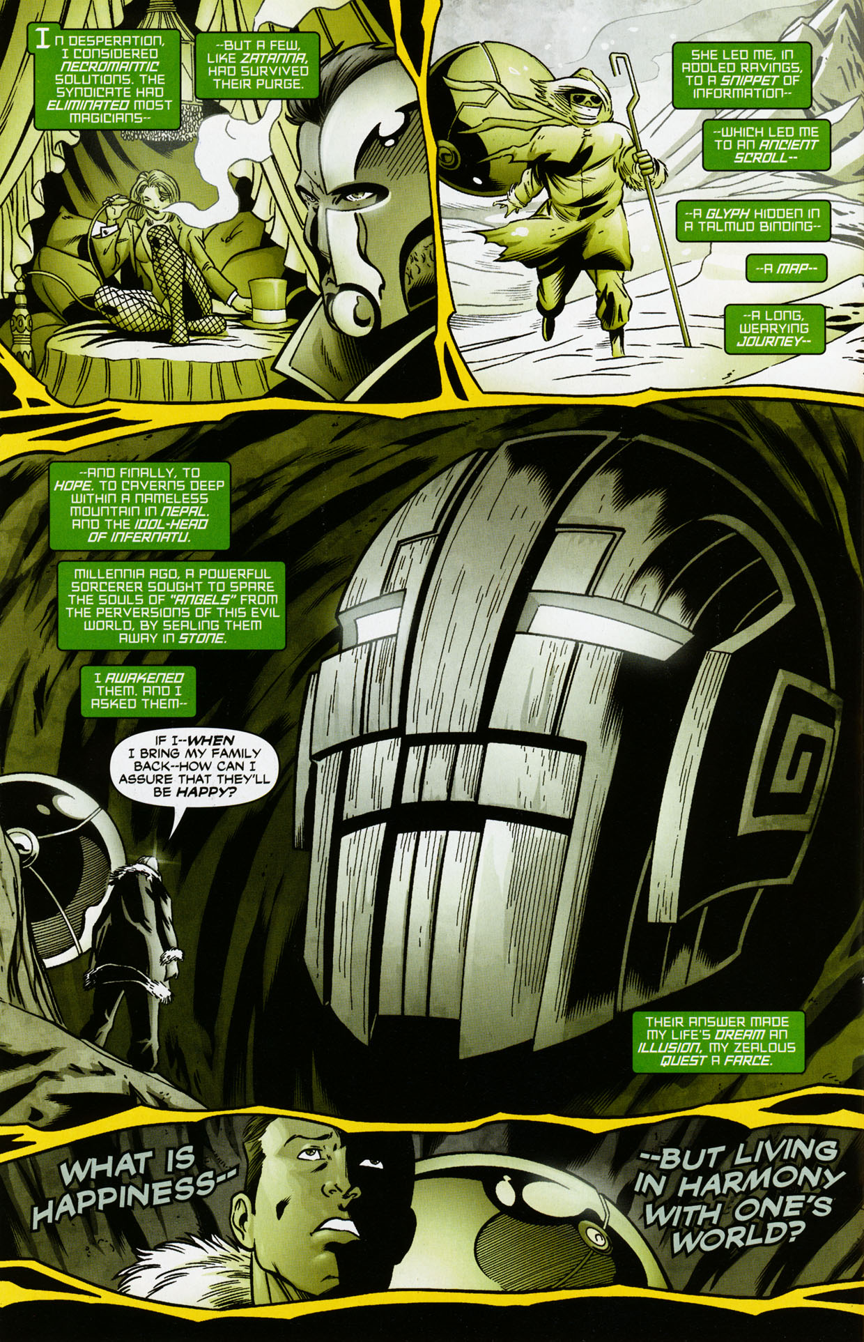Read online Trinity (2008) comic -  Issue #35 - 11