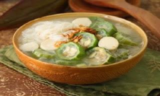 Sayur Gambas Khas Kalimantan Barat