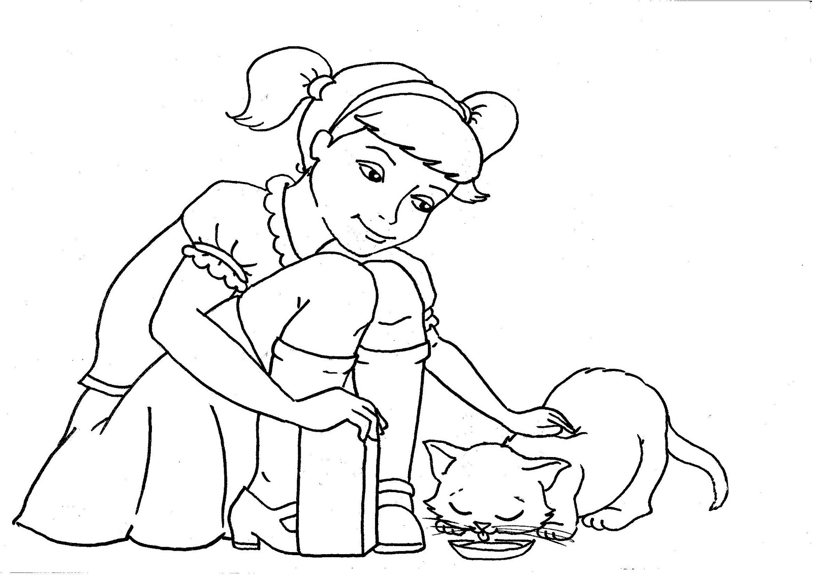 Radart Cats Rule Coloring Sheets