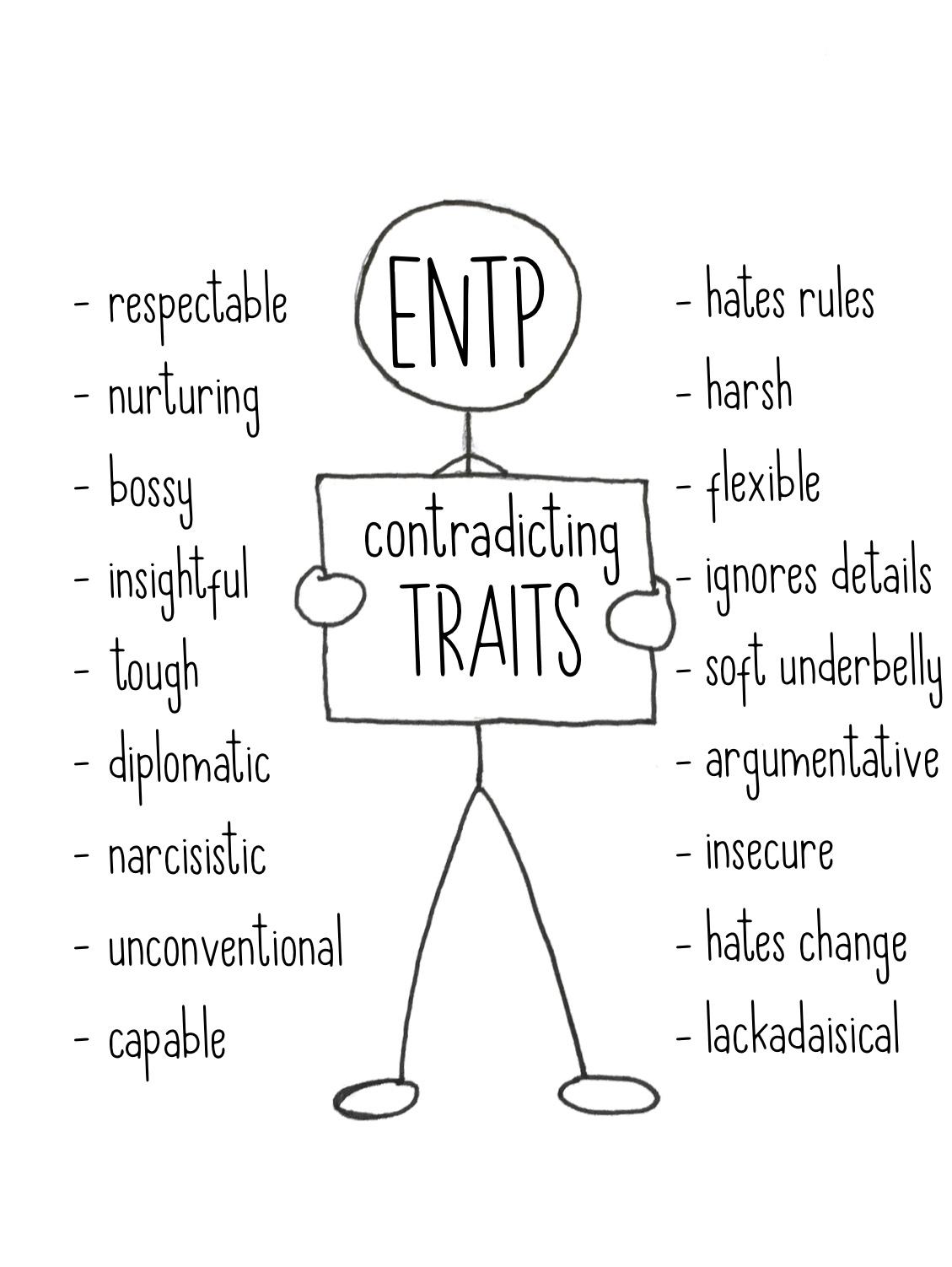 ENTP: Contradicting Traits