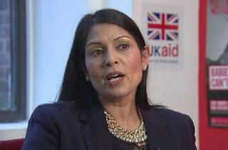 International Development Minister Priti Patel