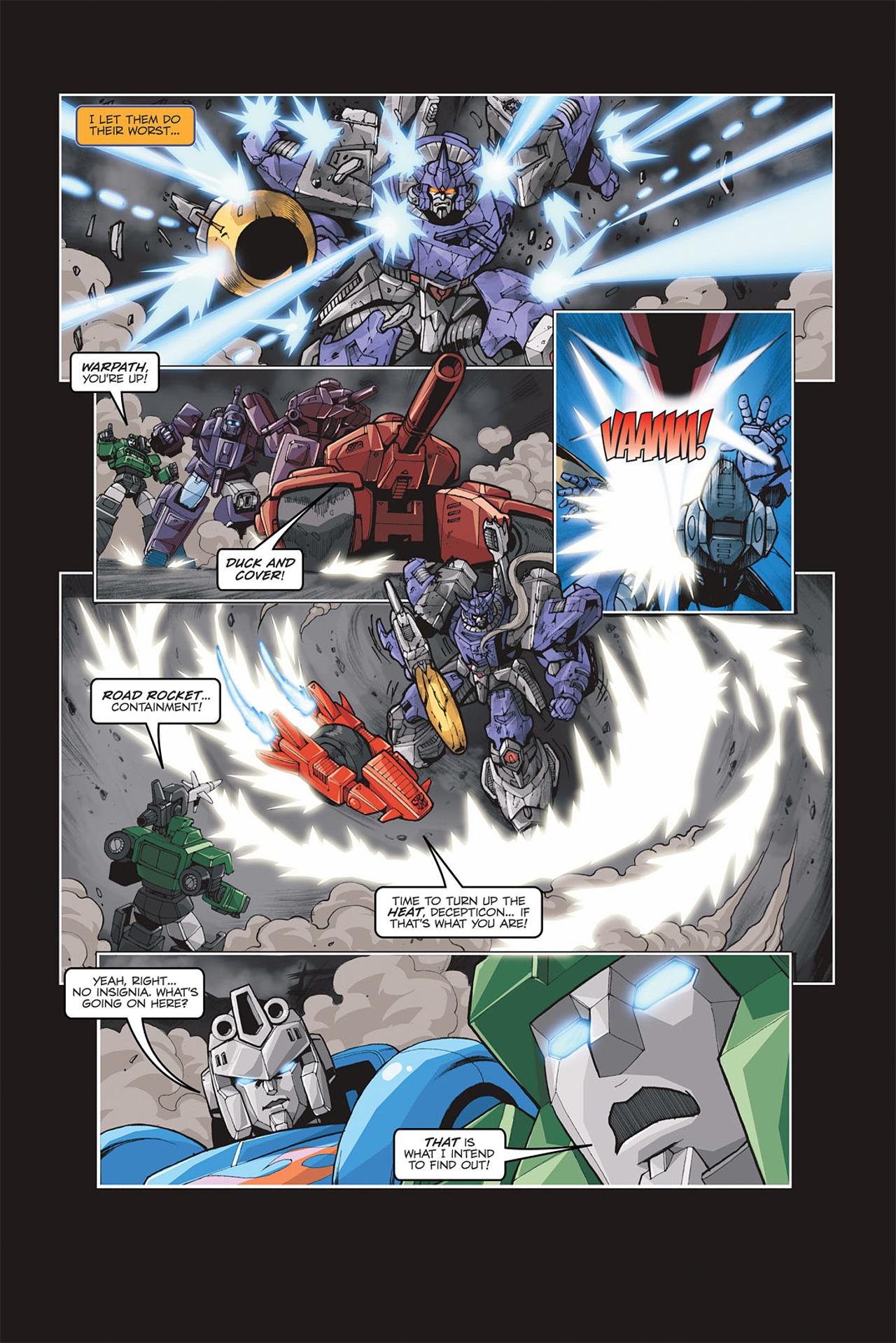 Read online Transformers Spotlight: Galvatron comic -  Issue # Full - 20