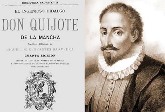 Miguel de Cervantes Saavedra y la primera página del Quijote