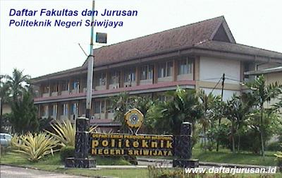 Daftar Fakultas dan Jurusan POLSRI Politeknik Negeri Sriwijaya Palembang