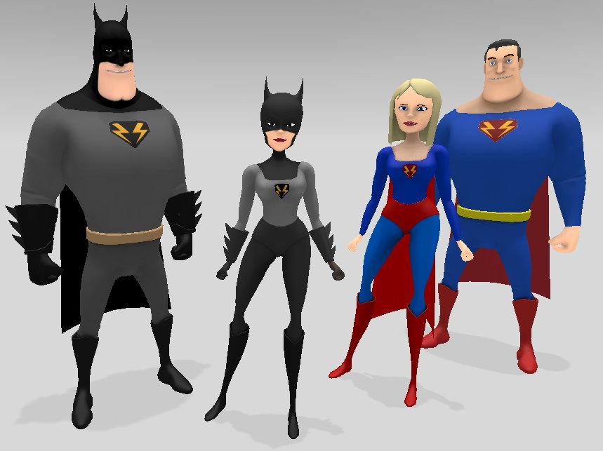 Muvizu Revisted, Silo2 3D Modelling Bat Ears and Bat Storm 2 0