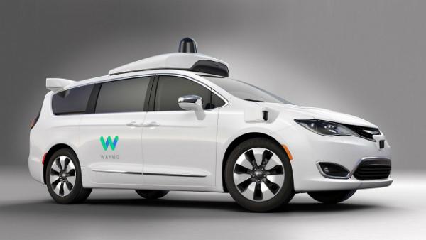 أولى الصور لسيارة كرايسلر باسيفيكيا ذاتية القيادة من جوجل