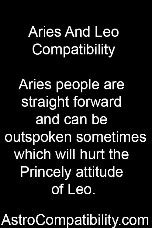 leo and aries relationship 2015