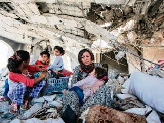 Keganasan kemanusian oleh regim Assad dan penganas russia