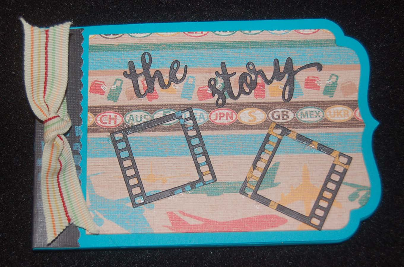 Lynns craft blog quick and easy mini travel album quick and easy mini travel album solutioingenieria Gallery