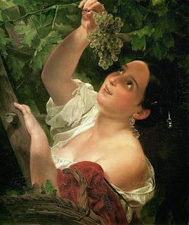 Resultado de imagen de oleo de muchacha  rusa siglo xix