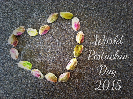 Sharing My Love of Pistachios on World Pistachio Day!