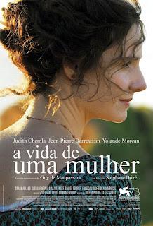 """Poster do filme """" A Vida de uma Mulher"""""""