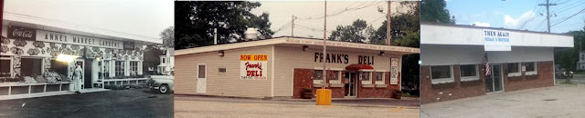 Below Annex Market Gardens Franks Deli And Then Again All At 739 Warwick Ave Through The Years