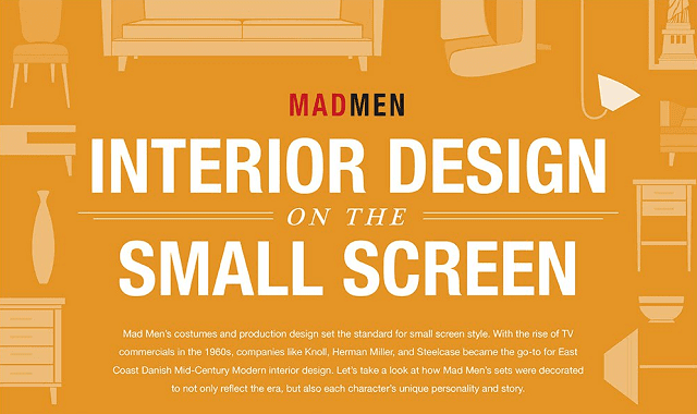 Mad Men: Interior Design on the Small Screen