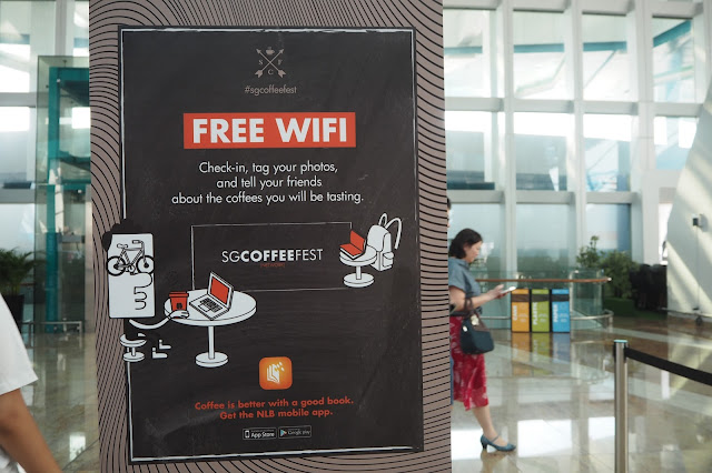 singapore coffee festival 2017 free wifi