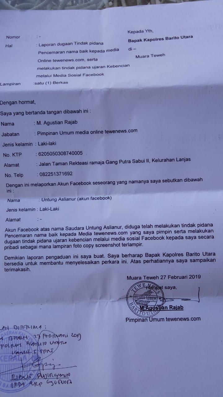 Diduga Fitnah Iwan Bule Vijaya Fitriyasa Dipolisikan Antara News