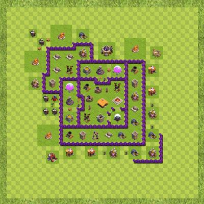 War Base Town Hall Level 7 By Devid Eduardo (Insano TH 7 Layout)