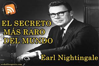 Audiolibro El Secreto Más Raro del Mundo - Earl Nightingale