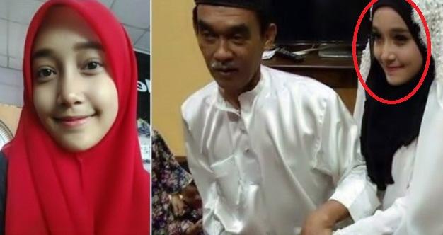 Masih Ingatkah Gadis 18 Th Yang Menikah Dengan Kakek 62 Th...?? Setelah Sebulan Nikah Inilah Foto Terbaru Yang Tidak Disangka Sangka