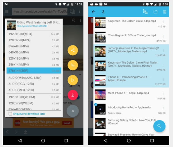 Download TubeMate 2018 Latest Version Update